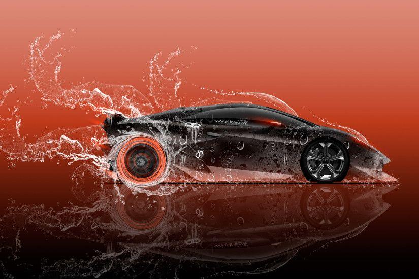Lamborghini Sesto Elemento Side Super Water Car