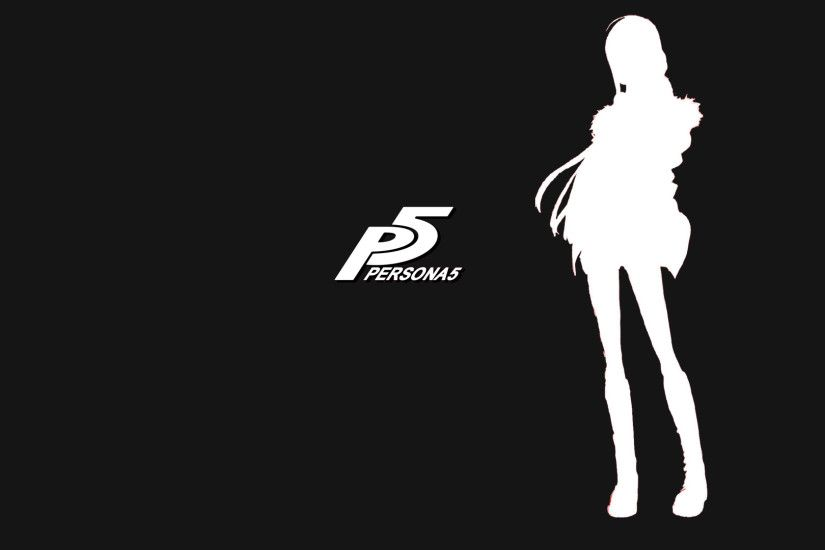 Persona 5 wallpaper BlackWhite 1920x1080 by andreanesos Persona 5 wallpaper  BlackWhite 1920x1080 by andreanesos