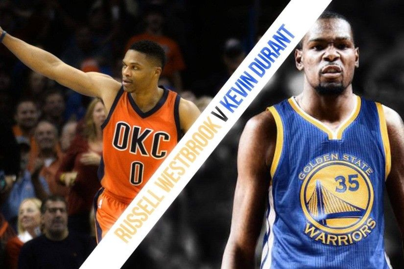 Kevin Durant vs Russell Westbrook '2017 Preview' á´´á´° - YouTube