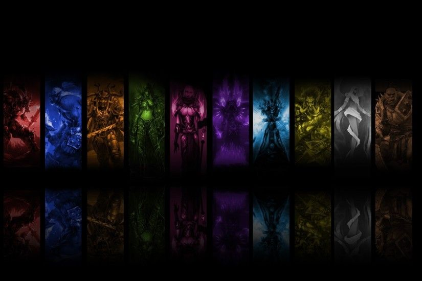 Preview wallpaper world of warcraft, priest mage, shots, photos,  characters, fan
