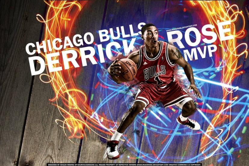 DeviantArt: More Like Derrick Rose MVP by Angelmaker666