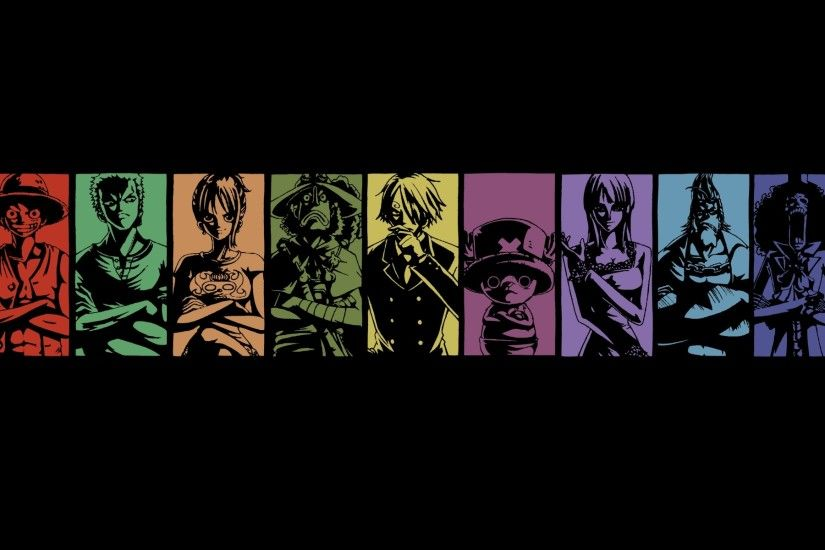 One Piece Crew Desktop Wallpaper