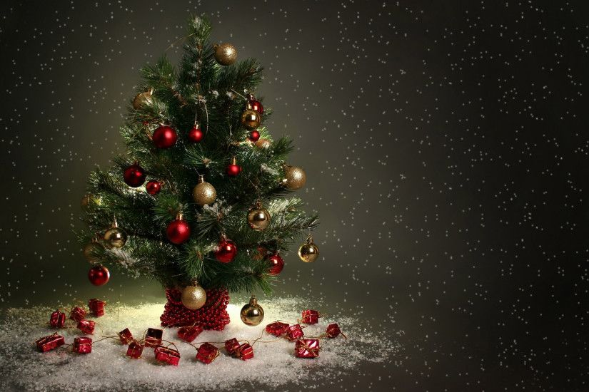 Merry Christmas Tree Wallpaper (08)