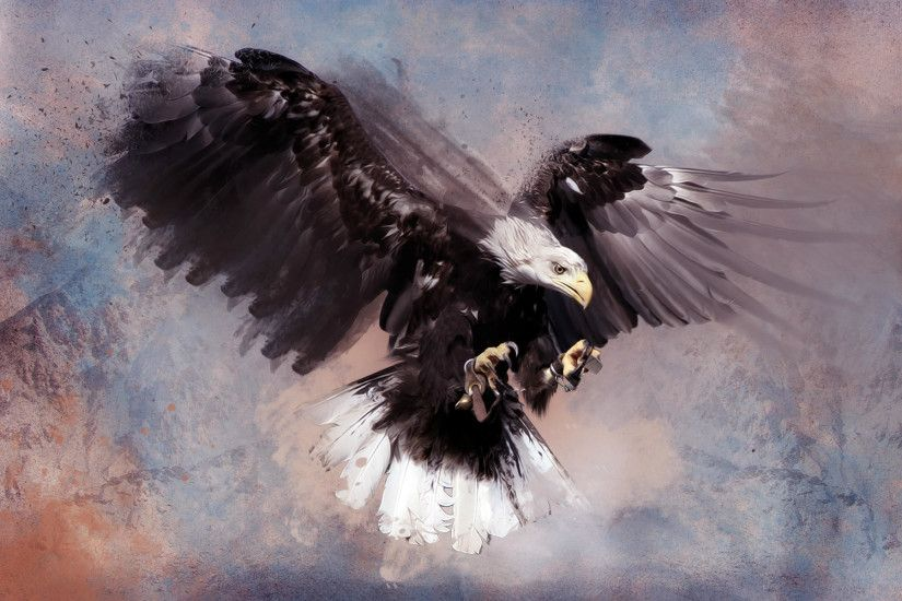 Flying Eagle Desktop Backgrounds For PC