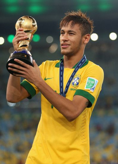 neymar in Brazil team-world cup