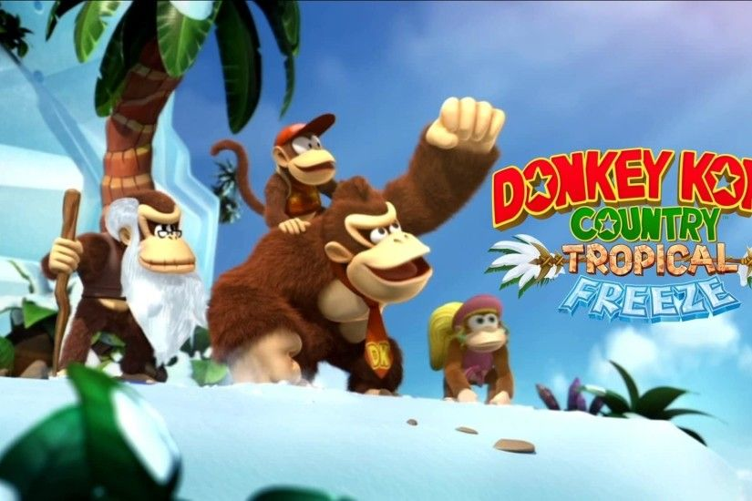 Donkey Kong Country Returns HD Wallpaper HD 7 - 1920 X 1080