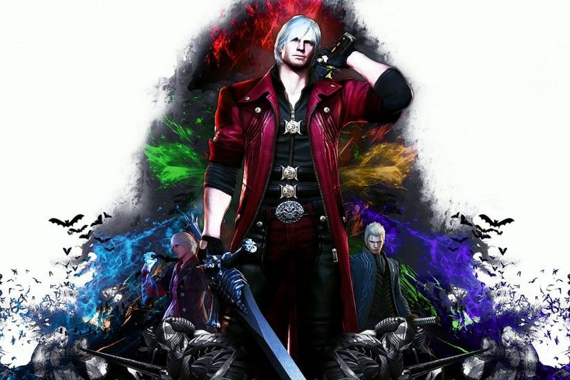 3840x2160 Wallpaper devil may cry 4, special edition, dante, nero, vergil