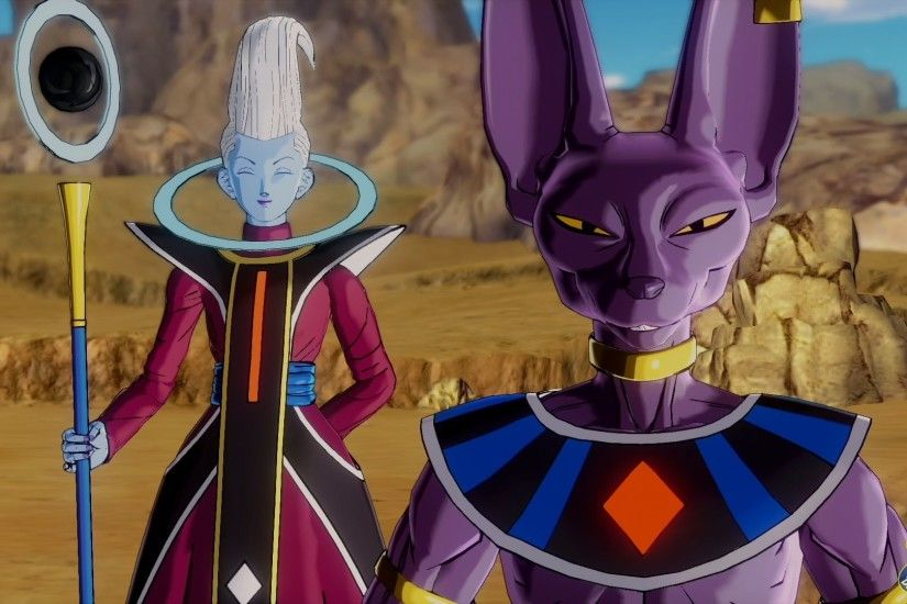 ... DRAGON BALL SUPER: WHIS VS BEERUS - YouTube ...