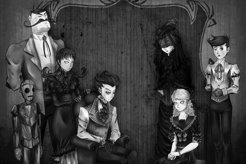 Don't Starve: Family Photo by processormalfunction (Very ...
