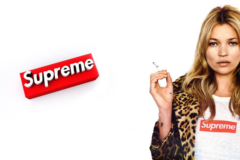 Download the Kate Moss Supreme wallpaper below for your mobile device  (Android phones, iPhone etc.)