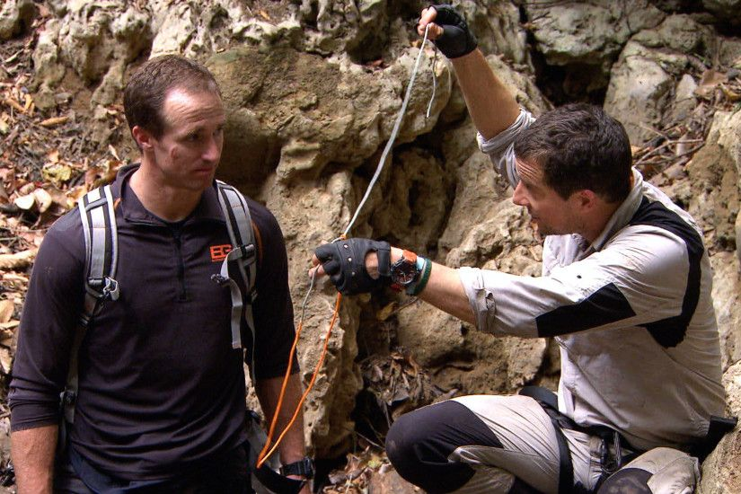 Watch Running Wild with Bear Grylls Highlight: Drew Brees and Bear Grylls  Capture a Crocodile - NBC.com