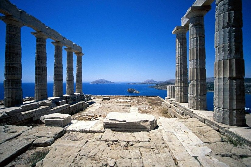 Greek Architecture Wallpapers | Best Wallpapers ...