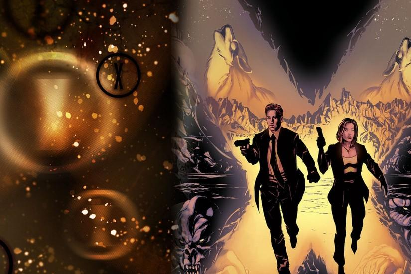 Comics - X Files Wallpaper