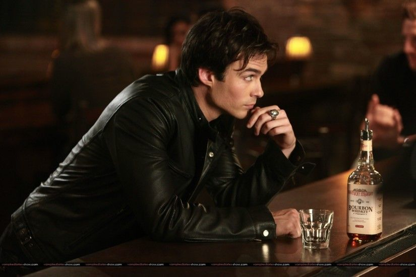 Image - Damon-at-bar.jpg | The Vampire Diaries Wiki | FANDOM powered by  Wikia
