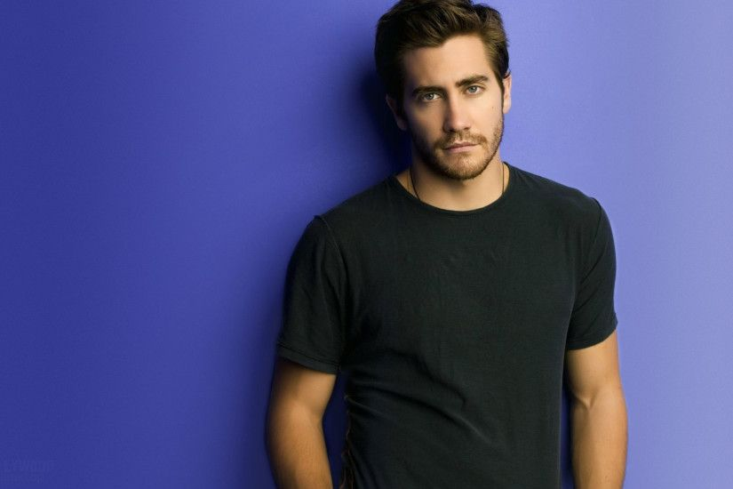 2560x1600 Wallpaper jake gyllenhaal, brunette, t-shirt, black, young man