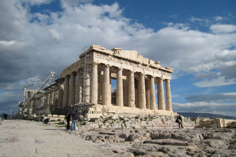 Acropolis of Athens Stunning Wallpaper