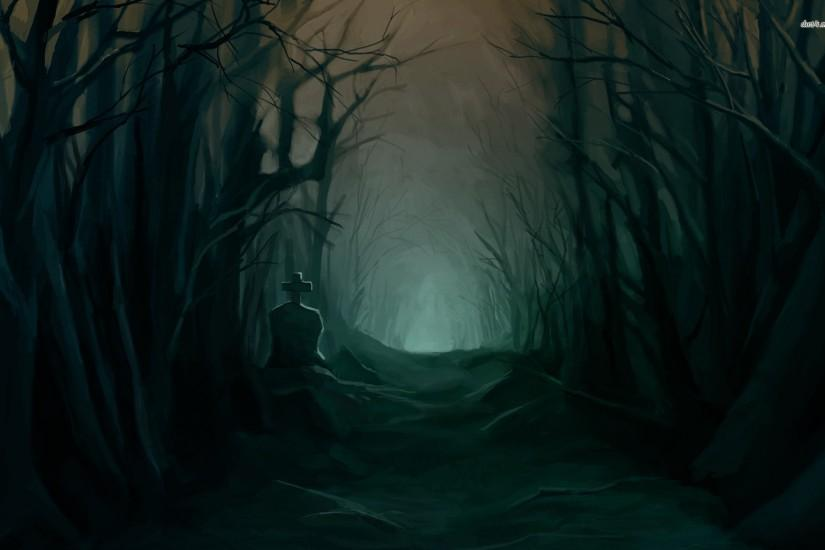 free dark forest background 1920x1200 windows