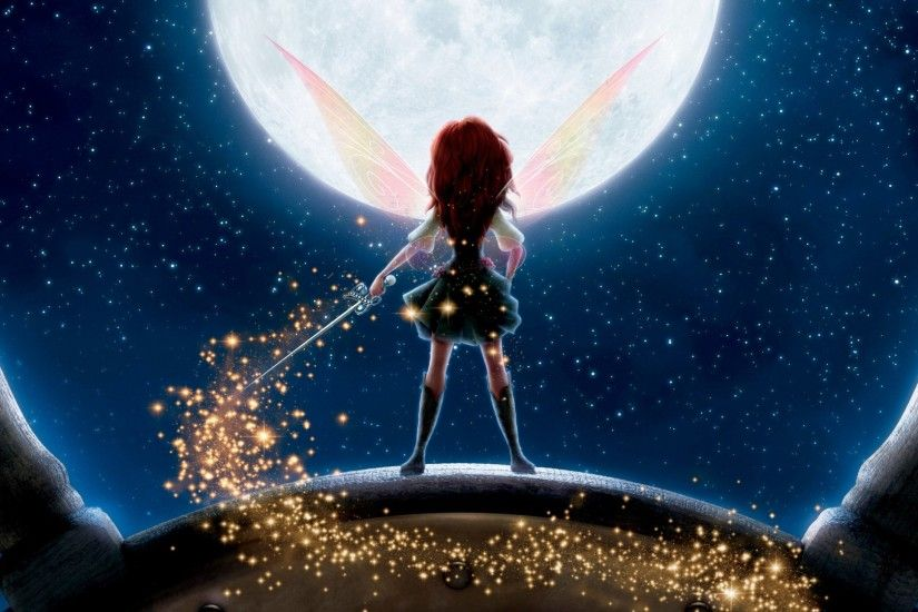 Download now full hd wallpaper fairy back peter pan moon ...
