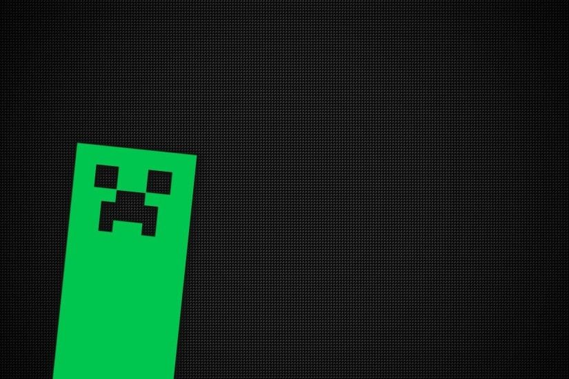 Creeper face in Minecraft
