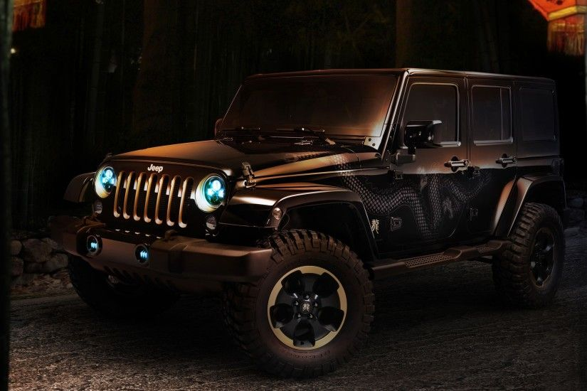... x 1600 Original. Wallpaper: Jeep Wrangler Dragon Concept Downloads: 6339