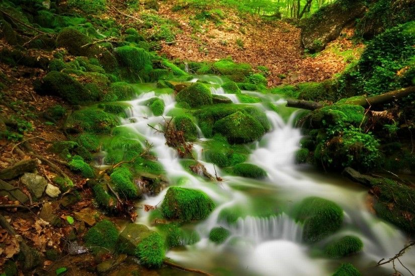 Beautiful Scenic Waterfall HD wallpaper ~ wallpapersQu Water Scenery  Wallpaper - WallpaperSafari ...