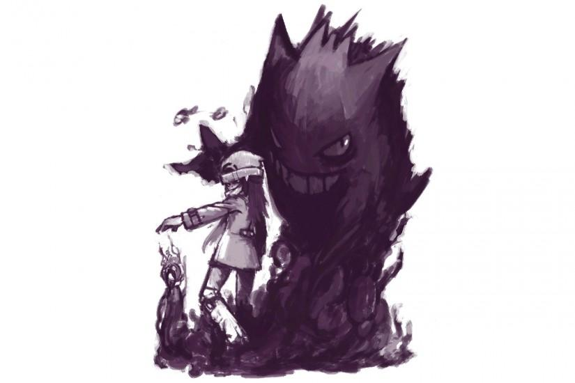 cool gengar wallpaper 1920x1200