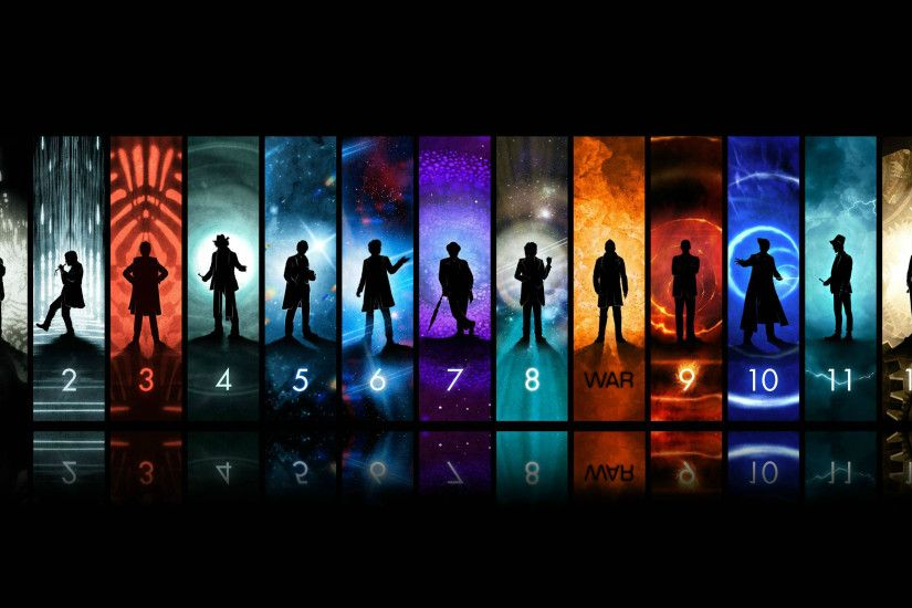 Doctor Who Wallpaper (1 through 12 with War)