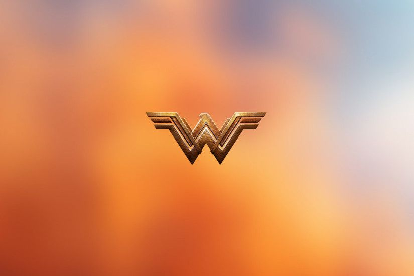 Wonder Woman Logo 4k (2048x1152 Resolution)