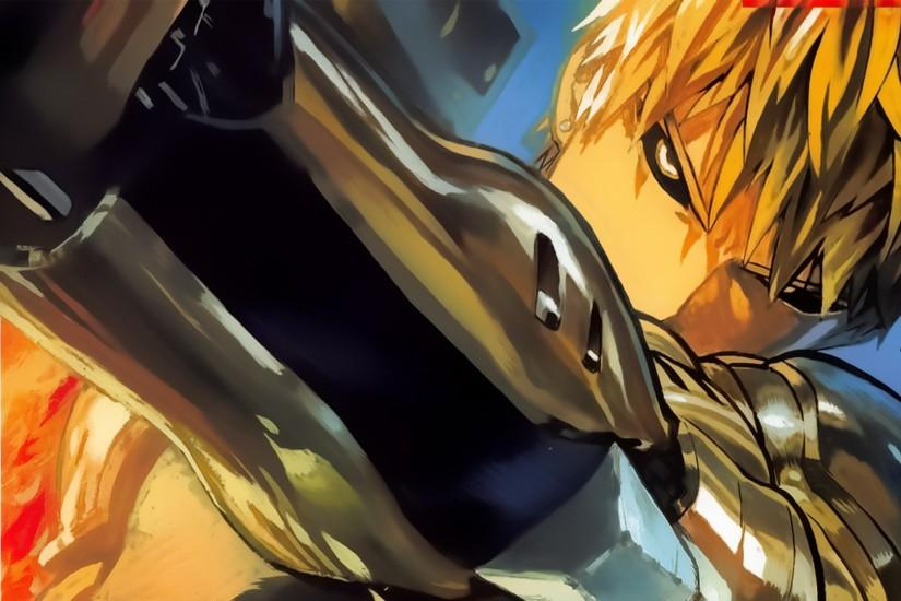 One Punch Man Genos Wallpaper Widescreen Is Cool Wallpapers Is Cool  Wallpapers