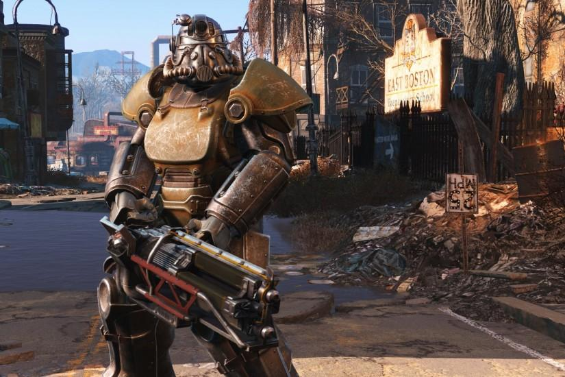 Video Game - Fallout 4 Power Armor Wallpaper