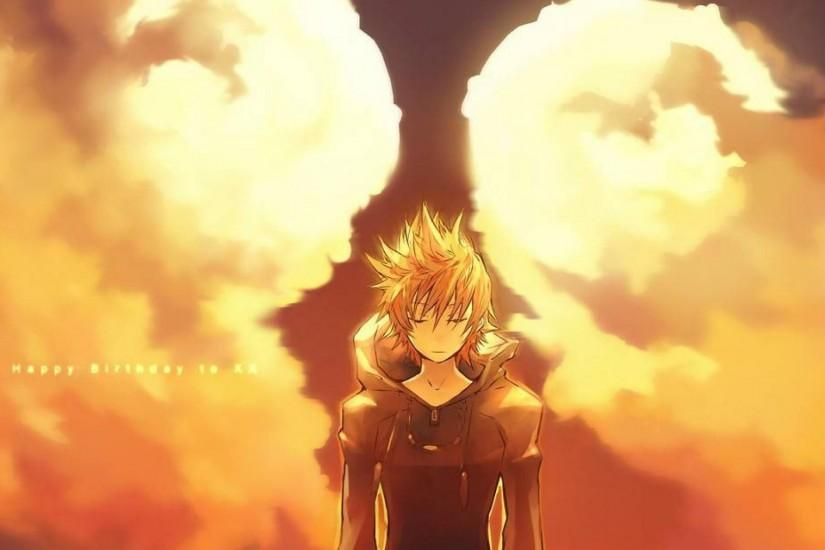 Kingdom hearts roxas wallpaper HQ WALLPAPER - (#12570)