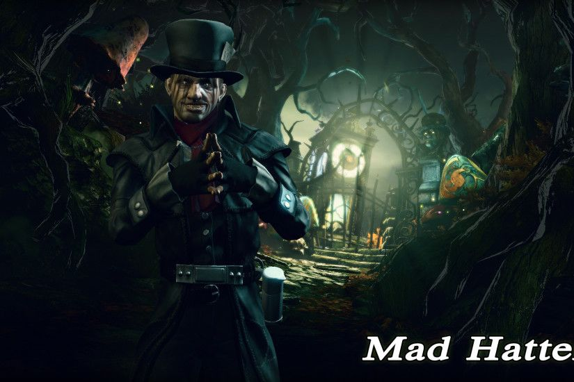 Click to edit. Mad Hatter Wallpaper