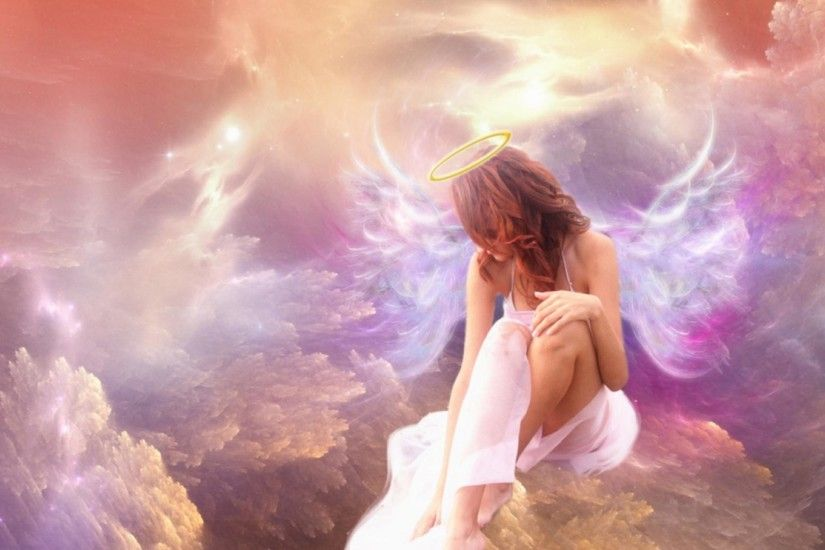 HD Wallpaper Angel Download.