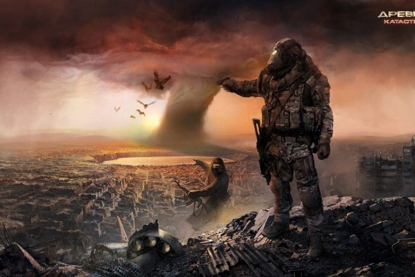 Sci Fi - Post Apocalyptic Wallpapers and Backgrounds ID : 195850. Find this  Pin and more on The end of ...