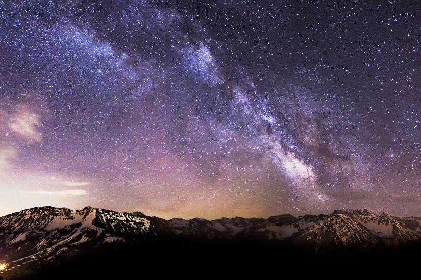 download free milky way wallpaper 1920x1080 for ipad
