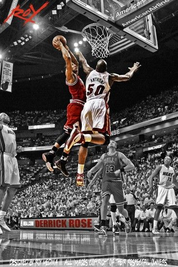 Derrick Rose Dunk Wallpapers - Wallpaper Cave
