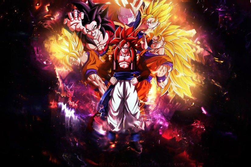 Dragon Ball Z Wallpapers Goku Wallpaper Cave - HD Wallpapers