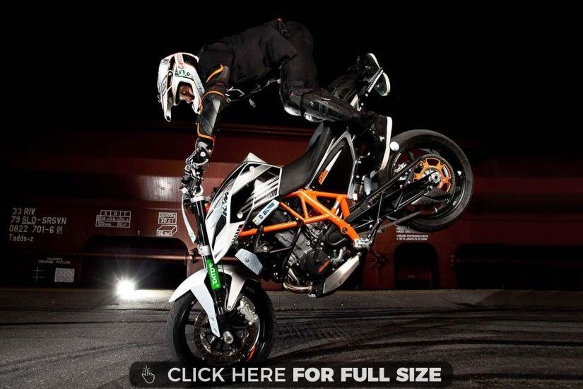 Rok Bagoros KTM 690 Duke Stunt Bike 3818 wallpaper