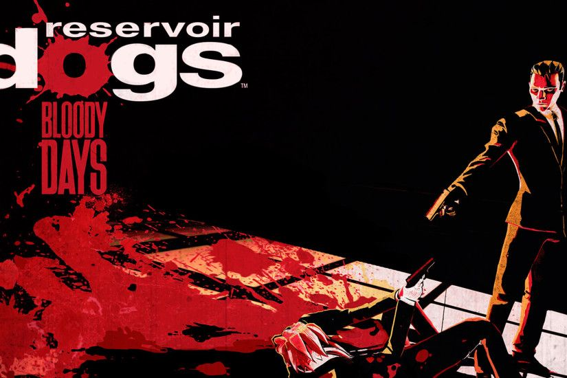 Reservoir Dogs Bloody Days Title Art