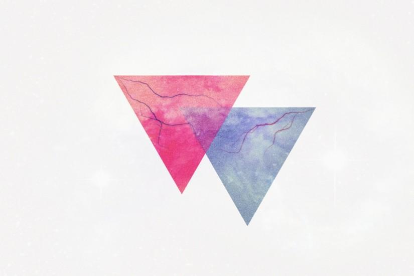 Preview wallpaper triangle, minimalism, lightning, veins 1920x1080