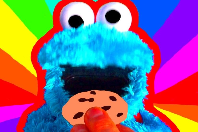 Count n Crunch Cookie Monster Eats ABC Learn your ALPHABET Cookie .
