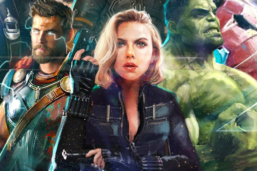thor-black-widow-hulk-in-avengers-infinity-war-