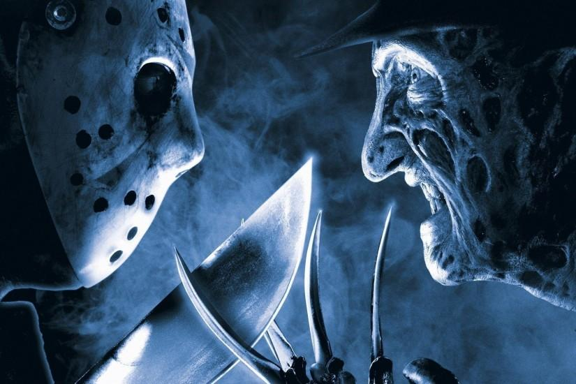 fantasy Art, Digital Art, Jason Voorhees, Freddy Krueger .