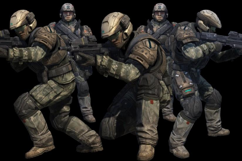 Halo Reach Marines Wallpaper