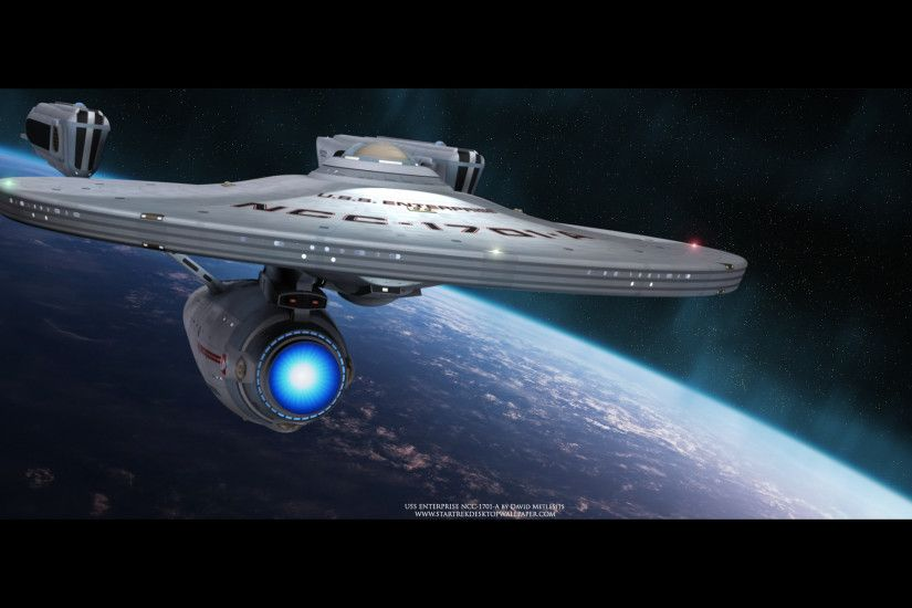 Star Trek USS Enterprise NCC-1701-A - free Star Trek computer desktop