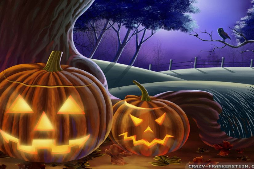 Videos · Home > Wallpapers > Holiday wallpapers > Halloween wallpapers · Jack  O' Lantern Halloween wallpapers