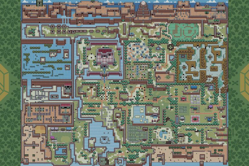 The Legend Of Zelda, The Legend Of Zelda: Links Awakening, Map, Rupee,  Video Games Wallpaper HD