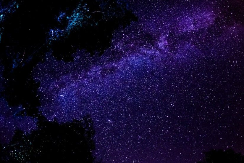 Download Wallpaper x Milky way Stars Night Sky Space