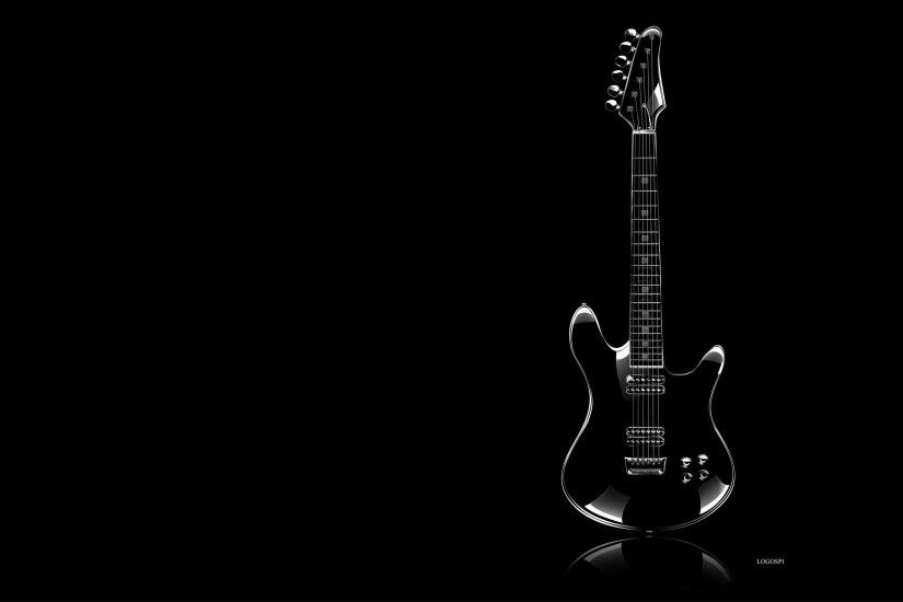 Guitar P O White Background Wallpaper