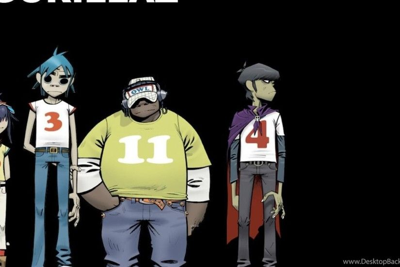 Gorillaz Bands Music Hd Wallpapers (
